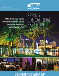 HBMA Spring 2015 Conference
